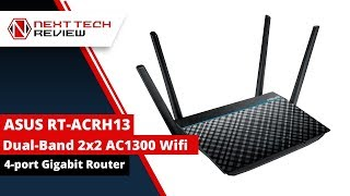 ASUS RT ACRH13 Dual Band Wifi Router  - NTR