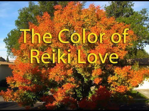The Color of Reiki Love