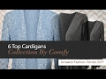 6 Top Cardigans Collection By Comfy Amazon Fashion, Winter 2017
