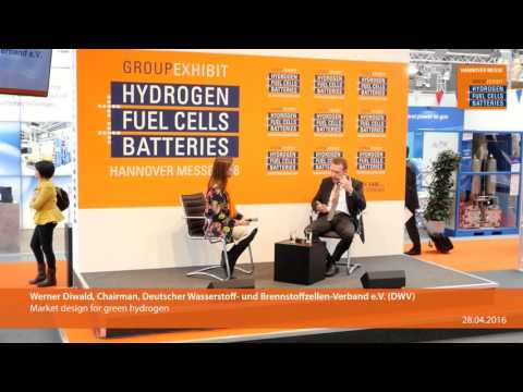 Market design for green hydrogen
