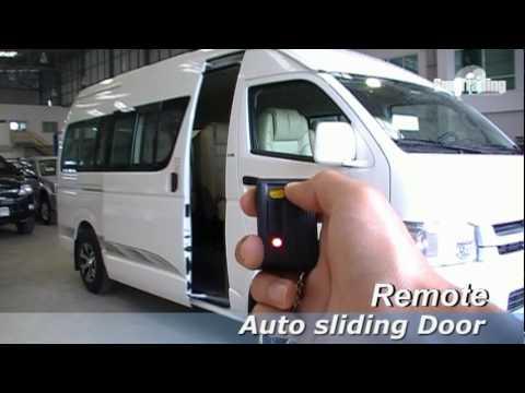 & Toyota commuter auto slide door 2 EP.5 - YouTube Pezcame.Com