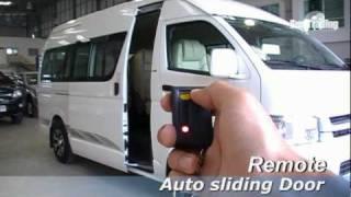 Toyota commuter auto slide door 2 EP.5