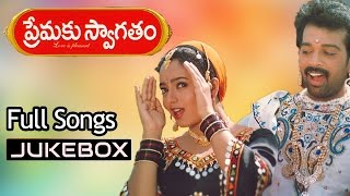 Premaku Swagatham Telugu Movie Songs Jukebox ll J.D.Chakravarthy, Soundarya