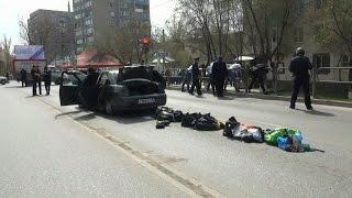 Подробности задержания водителя и пассажиров «Лады» на ул. Боевой в Астрахани