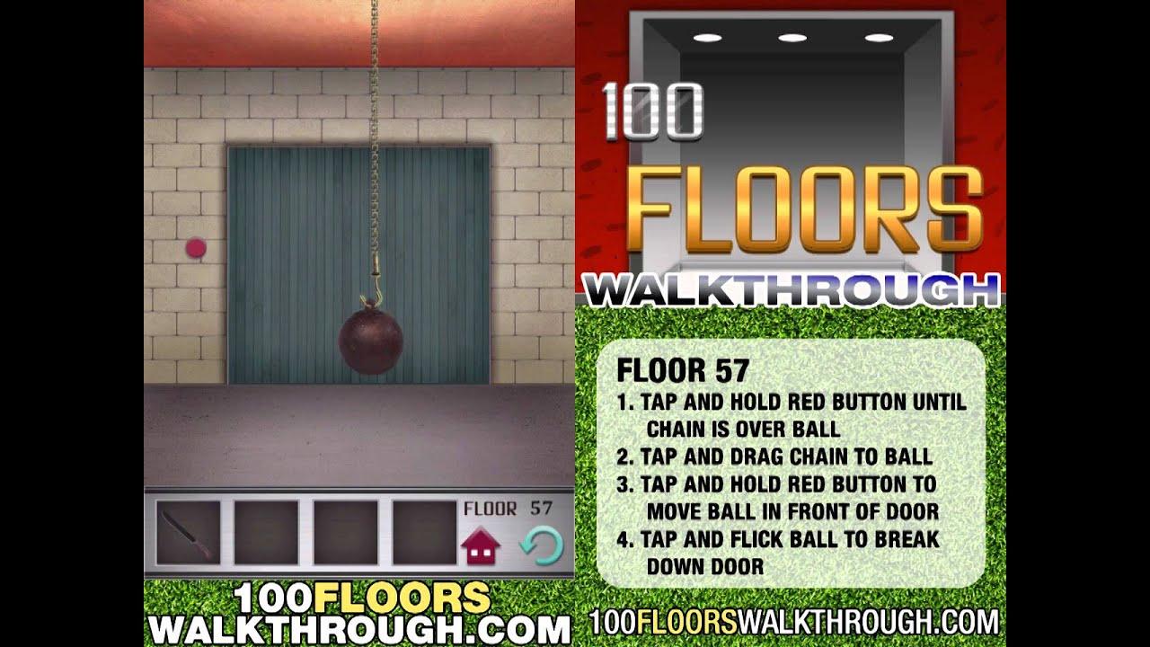 Floor 57 Walkthrough 100 Floors Walkthrough Floor 57