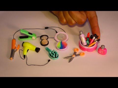 DIY Make Polymer Clay Miniature Makeup Set#2 |Mini Polymer Clay Makeup Set |Easy to do