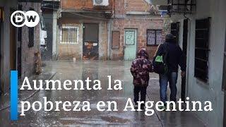 Aumenta la pobreza en Argentina