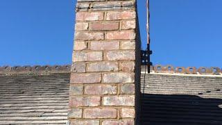 Pointing and repairing a chimney thumbnail