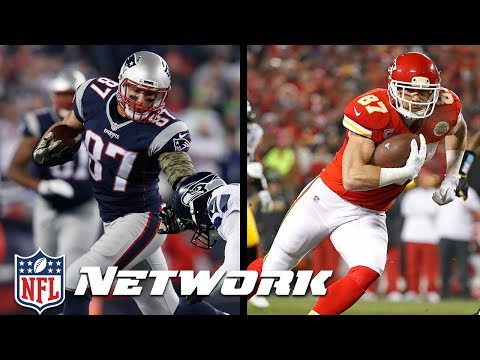 Rob Gronkowski or Travis Kelce: Who is Better Heading into the 2017 Season? | NFL Network