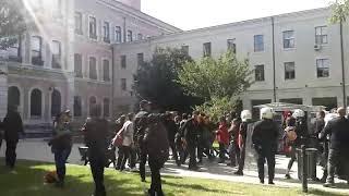 İstanbul Üniversitesi'nde 10 Ekim Anmasına Saldırı 2