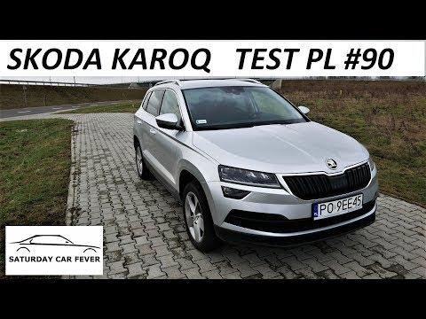 SKODA KAROQ 1.0 TSI - TEST PL