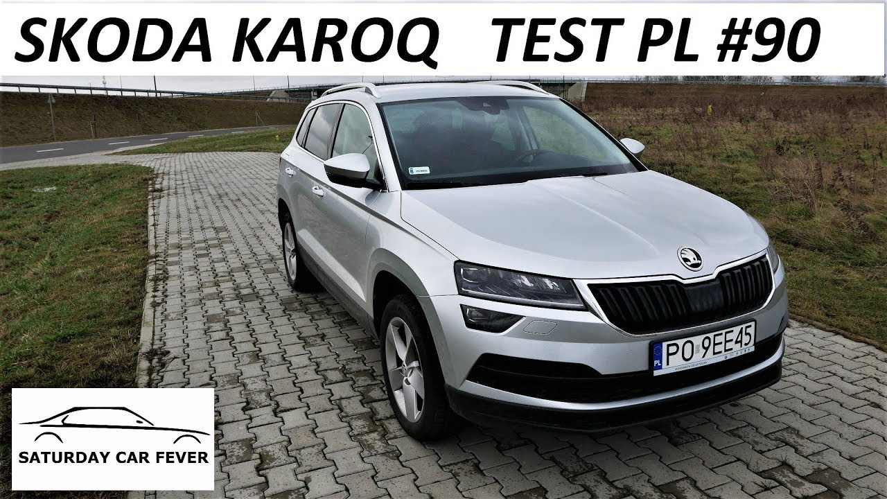 skoda karoq 1 0 tsi test pl youtube. Black Bedroom Furniture Sets. Home Design Ideas