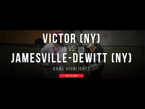 Victor (NY) vs Jamesville Dewitt (NY) | 2017 High School Highlights