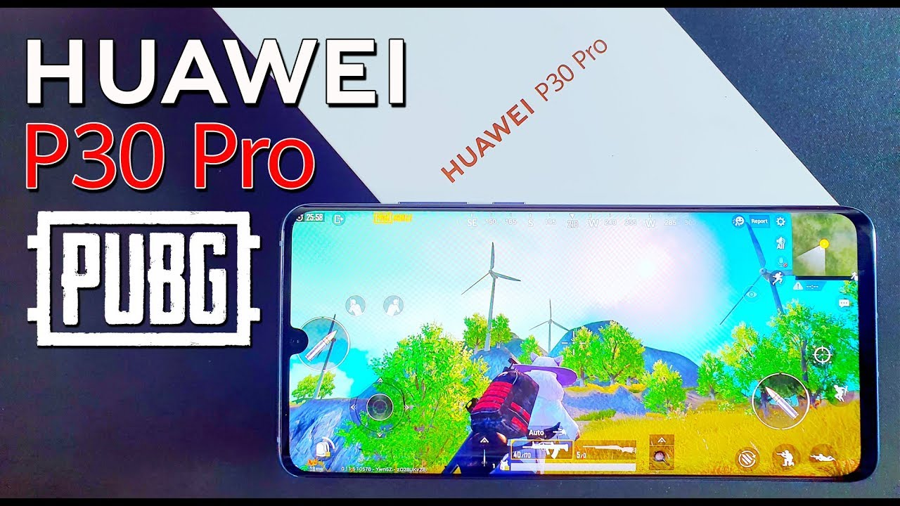PUBG Mobile on Huawei P30 Pro Gaming Test (HDR-Graphics)
