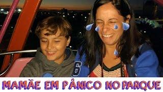 DIVERSÃO NO BETO CARRERO (parte 2) MAMÃE EM PÂNICO NA RODA GIGANTE