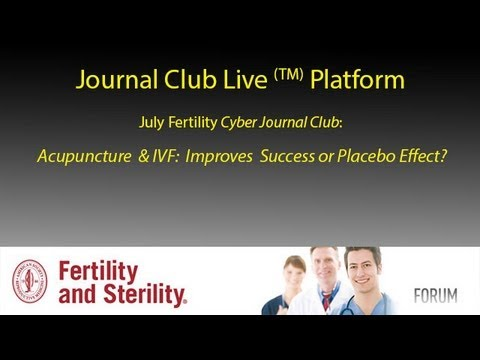 Acupuncture & IVF Journal Club Live! (TM)