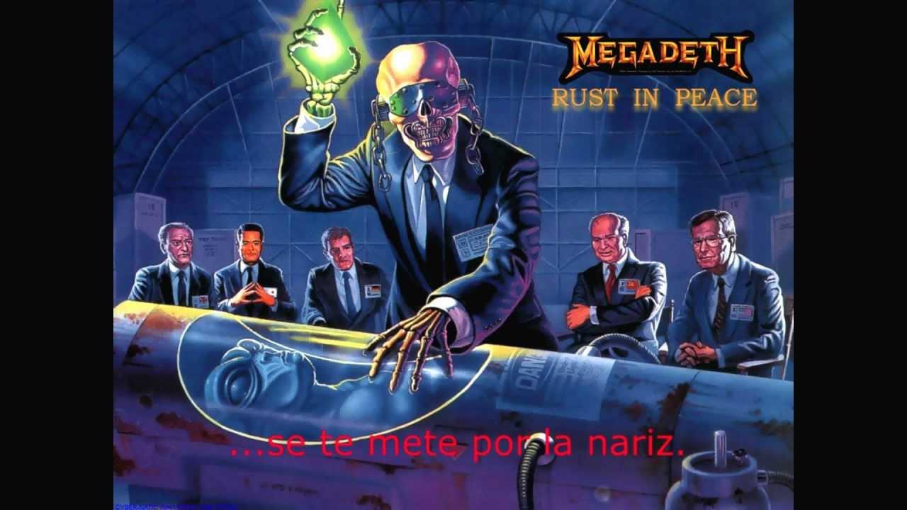 Rust In Peace Polaris Megadeth Traducida
