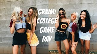 GRWM: COLLEGE GAME DAY