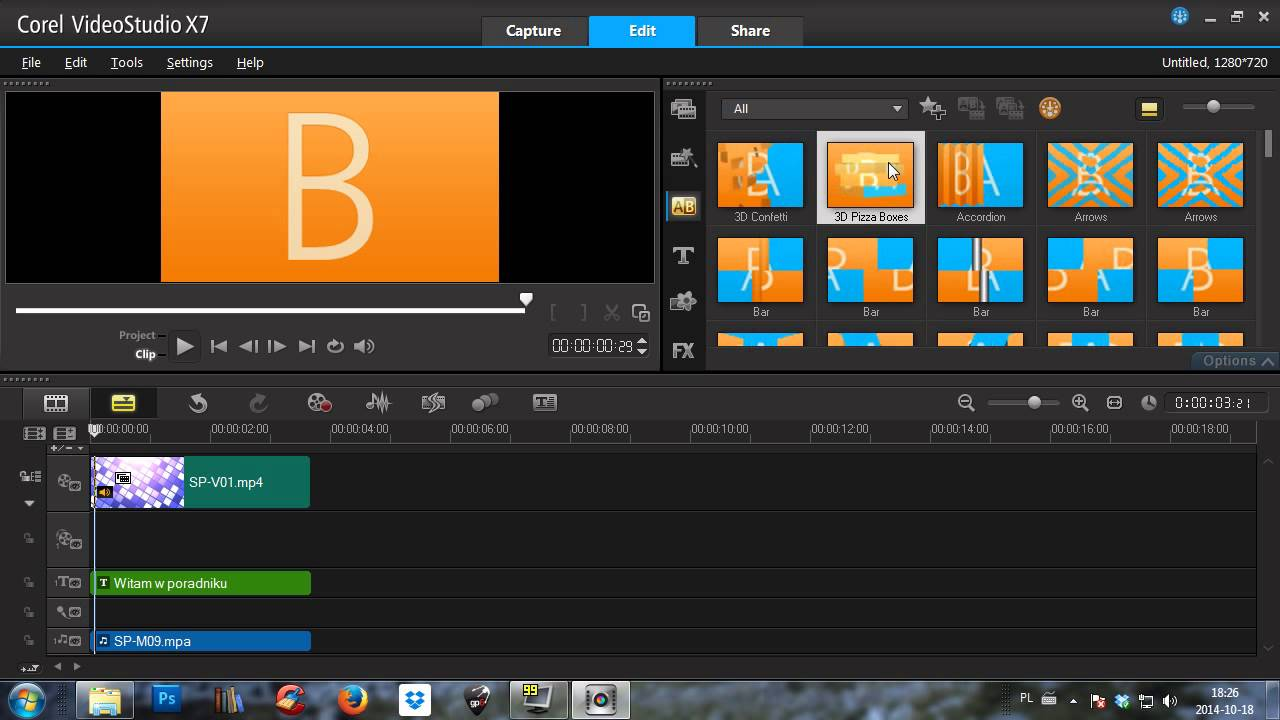 Corel video x7
