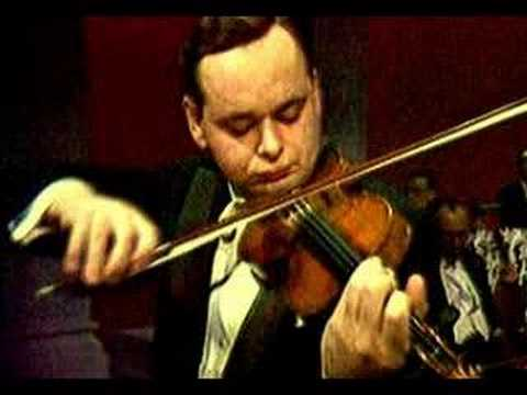 Michael Rabin - Wieniawski Concerto No.2 Part 1