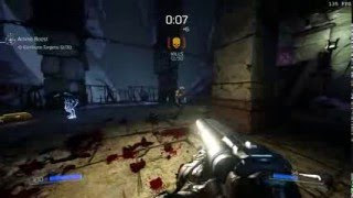 Doom (2016) In Slow Motion @ 120 fps (pc version, max settings)