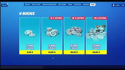 Mit Paysafecard V-Bucks kaufen in Fortnite (Tutorial)