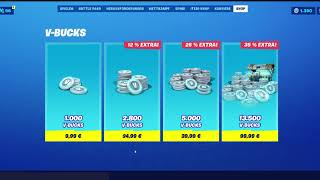 Buy V-Bucks with Paysafecard in Fortnite (Tutorial)