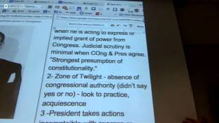 ConLaw Class 3 – The Separation of Powers