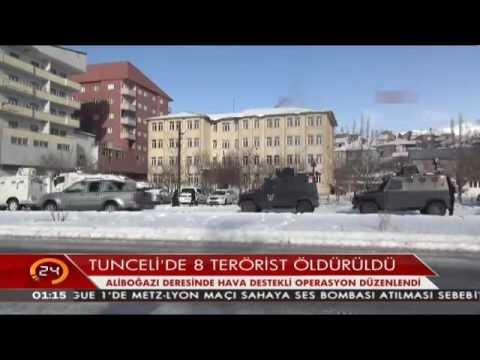 Hakkari ve Tunceli'de PKK'ya ağır darbe vuruldu