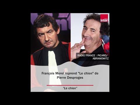 """""""Le Chien"""" de Pierre Desproges par François Morel"""