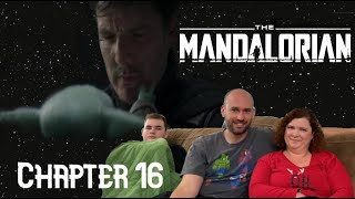 The Mandalorian Chapter 16 Reaction // The Rescue // Star Wars // Luke Skywalker / Book of Boba Fett