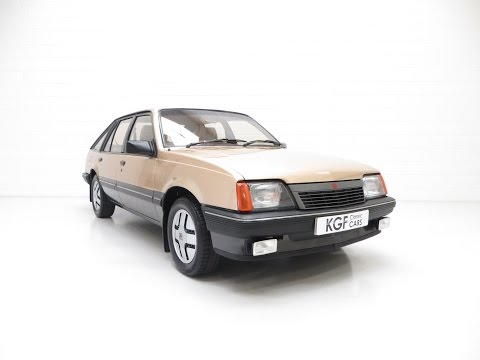 A Virtually Extinct Vauxhall Cavalier Mk2 SRi with Just 37,394 Miles and Two Owners - SOLD!