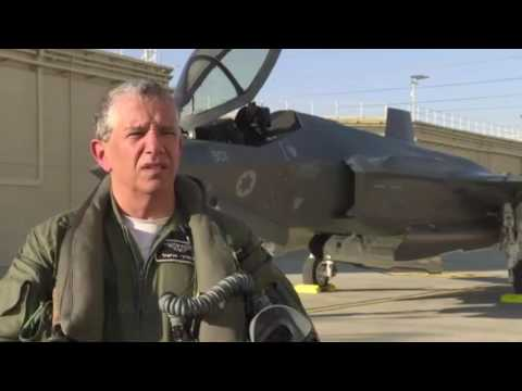 "IAF Commander Flies the ""Adir"" F-35I for the First Time"