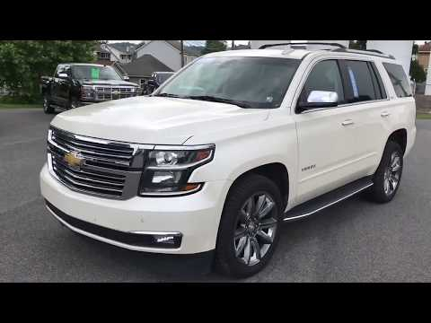 Beautiful 2015 Chevy Tahoe LTZ At Lake Chevrolet In Lewistown, PA