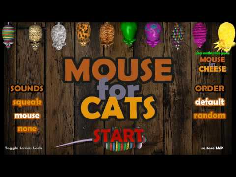 Mouse for Cats: Interactive Entertainment Video game for cats