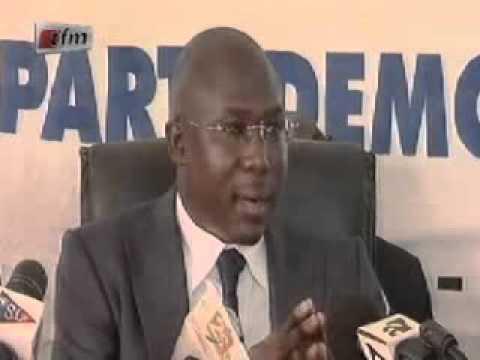 Rencontre avec la Presse Abdoul Aziz Diop Sg FNCL - 21 Mai 2012
