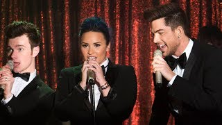 "Demi Lovato & Adam Lambert Perform ""The Happening"" on Glee ""Trio""! 5x10"