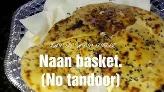 How to make Naan without tandoor BUTTER NAAN