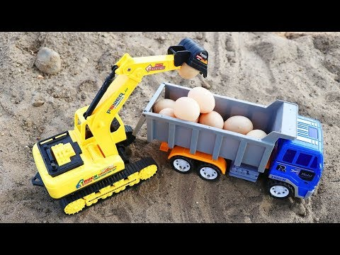 Surprise Eggs | Water Colors Turning the egg into a Car Toys | Car Toys For Kid