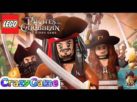 #LEGO Pirates of the Caribbean Full Game Movie - LEGO Movie Cartoon for Children & Kids