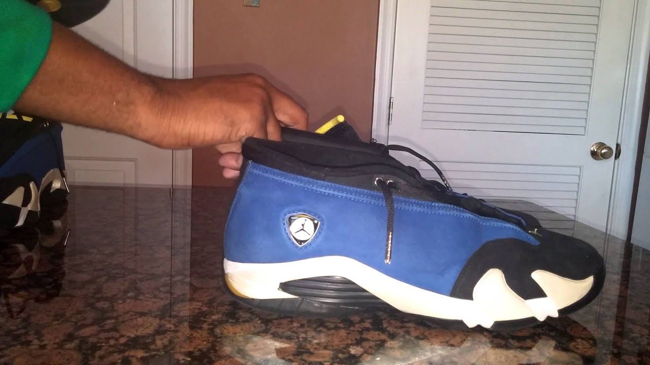 e97906a47b00 Super Early Air Jordan 14 Low Laney Retro 2015 Overview Comparison REVIEW  OG 1999 vs Retro