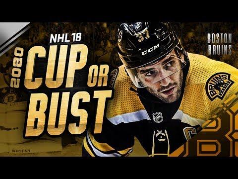 BOSTON BRUINS REBUILD! 2020 CUP OR BUST (NHL 18 Franchise Mode)