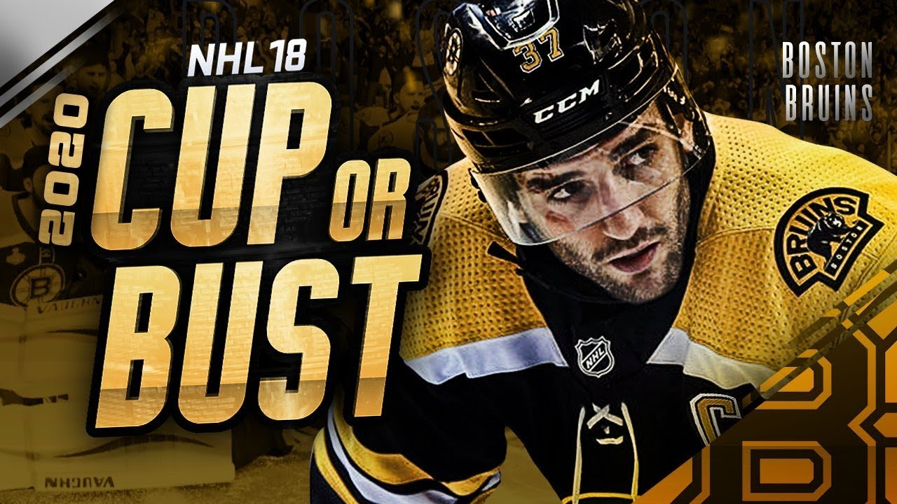 BOSTON BRUINS REBUILD! 2020 CUP OR BUST (NHL 18 Franchise Mode ... 120349305