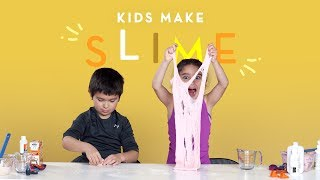 Kids Make Slime | Slime Time | HiHo Kids
