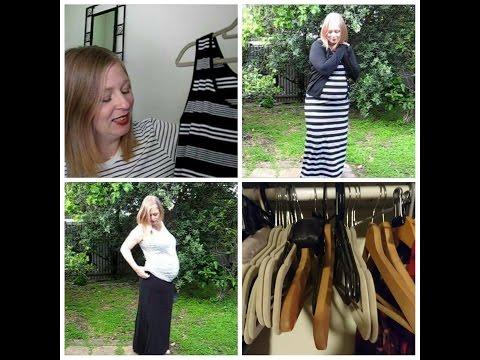 Minimalist 20 Piece Maternity Wardrobe   Summer Capsule   Concious Consumerism