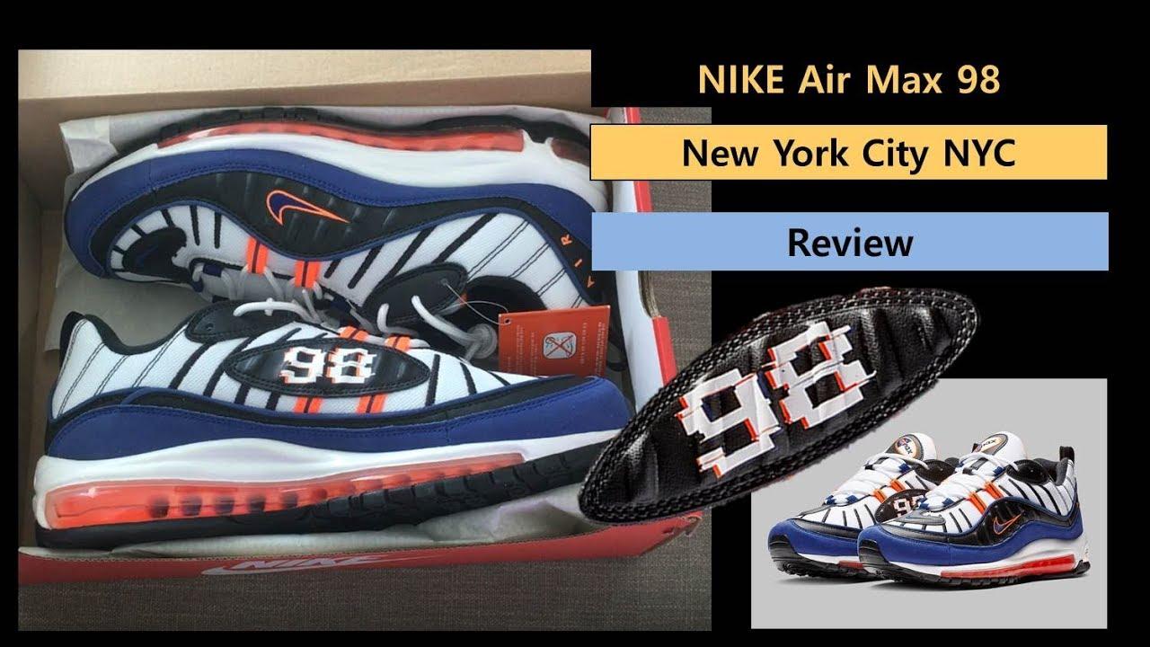 Air Max 98 New York city NYC Royal Blue
