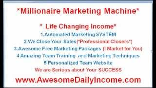 Millionaire Marketing Machine Review...Why You Should Join!
