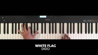 Dido - White Flag (Piano cover)