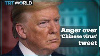 Trump calls coronavirus the 'Chinese virus'