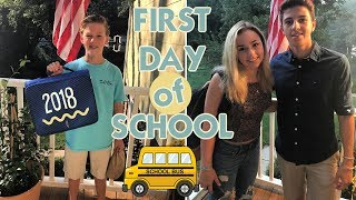 IT'S THE FIRST DAY OF SCHOOL *high school & middle school* BACK TO SCHOOL 2018